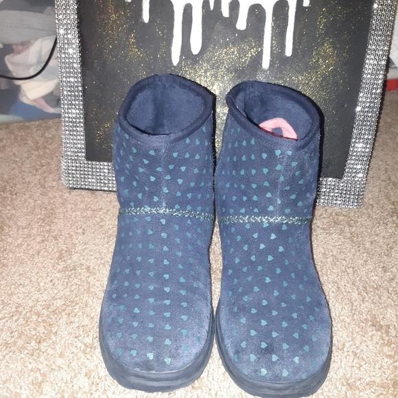 b39e0bf6fb95 UGG Shoes | Blue Hearts Kisses Mini S | Poshmark